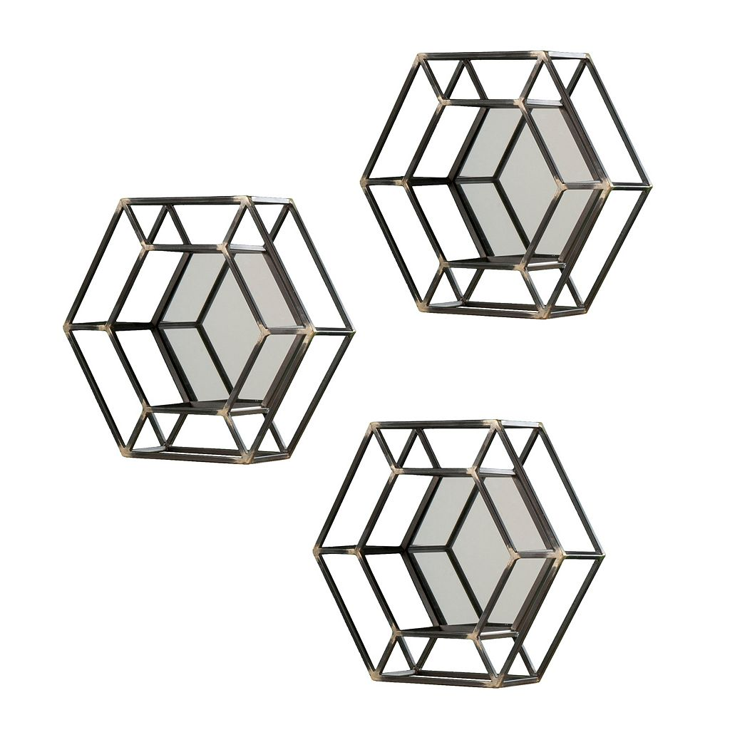 Holly & Martin Wyson Wall Mirror 3-piece Set