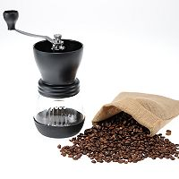 Kyocera Ceramic Coffee Mill with Glass Jar