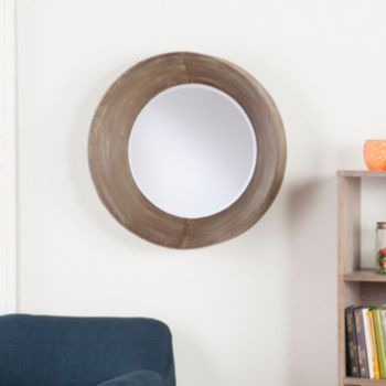 Holly & Martin Wushu Round Metal Wall Mirror