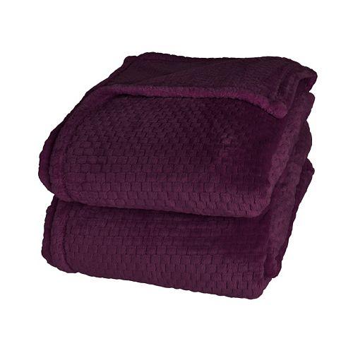 Better Living Dobby Velvety Plush Blanket