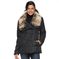 Women's Hemisphere Faux-Fur Collar Down Jacket