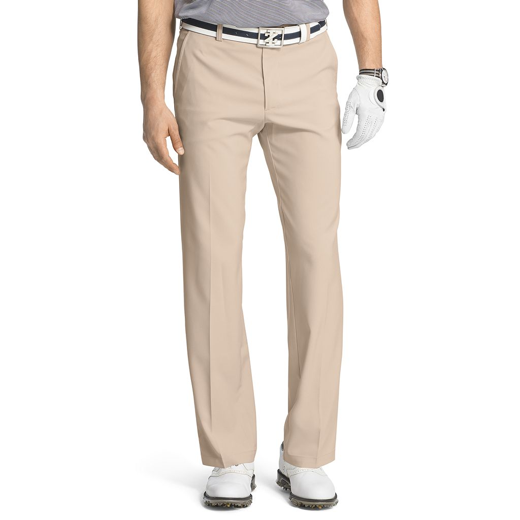 Men's IZOD Straight-Fit Performance Flat-Front Golf Pants