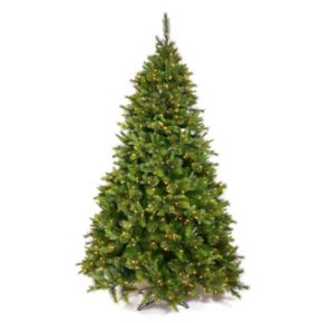 Vickerman 7.5-ft. Pre-Lit Cashmere Slim Artificial Christmas Tree