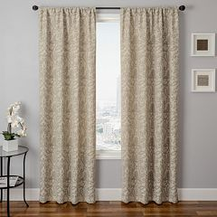 Softline 1-Panel Azure Royale Window Curtain