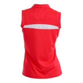Plus Size Nancy Lopez Sporty Sleeveless Golf Polo