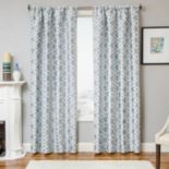 Softline 1-Panel Larson Tile Window Curtain