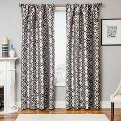 Softline 1-Panel Larson Tile Window Curtain