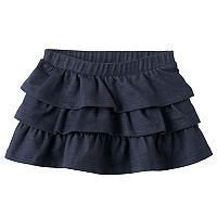 Toddler Girl Jumping Beans® Faux Denim Ruffle Skort