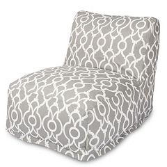 Majestic Home Goods Athens Indoor / Outdoor Beanbag Chair Lounger