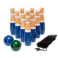 Hey! Play! 8 in Wooden Lawn Bowling Set