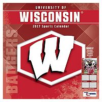 Wisconsin Badgers 2017 Sports Calendar