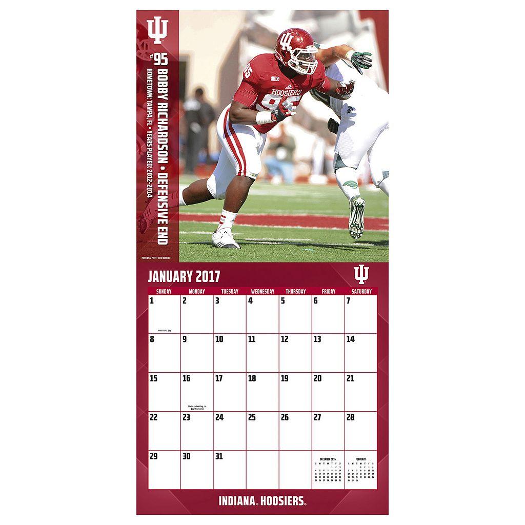 Indiana Hoosiers 2017 Sports Calendar