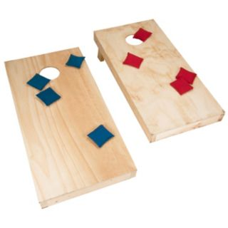 Trademark Games Do-It-Yourself Regulation-Sized Cornhole Boards & Bags Set