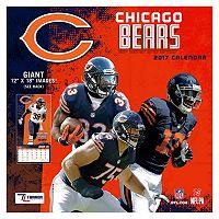 Chicago Bears 2017 Calendar