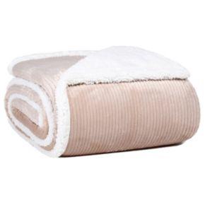 Better Living Dobby Velvety Plush Sherpa Blanket