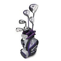 Girls 5-8 Callaway XJ Hot Flex Right Hand Golf Club & Stand Bag Set