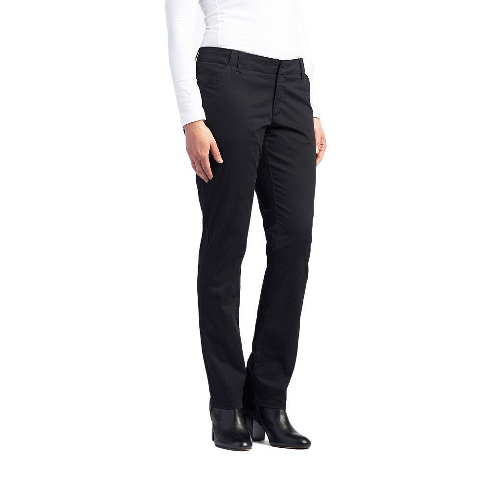 Women's Lee Essential Straight-Leg Chino Pants