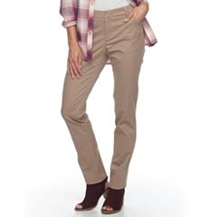 Women's Lee Essential Chino Straight-Leg Pants