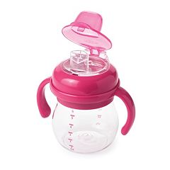 OXO Tot Transitions 6-Oz. Soft Spout Sippy Cup with Removable Handles