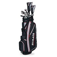 Men's Callaway 2015 Strata Flex Right Hand Golf Clubs & Stand Bag Set