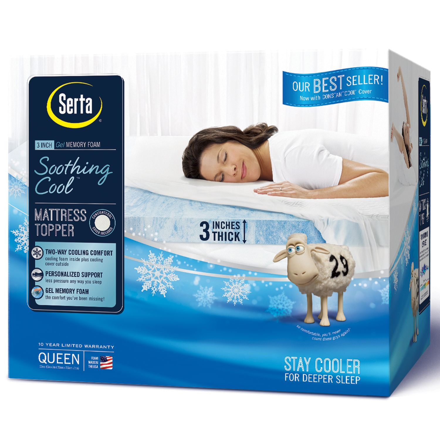 cooling sizes bath gellux memory protector mattress lane multiple pin gel foam beyond topper review bed and