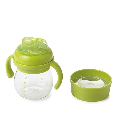 OXO Tot Transitions 6-Oz. Soft Spout Sippy Cup & Lid Set