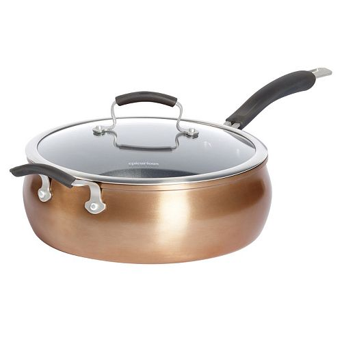 Epicurious 6-qt. Covered Jumbo Cooker with Assist Handle