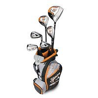 Boys 9-12 Callaway XJ Hot Flex Left Hand Golf Club & Stand Bag Set