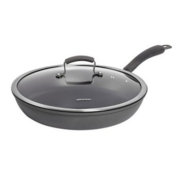 Epicurious 13-in. Hard-Anodized Nonstick Aluminum Frypan