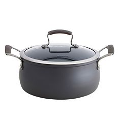 Epicurious 5-qt. Hard-Anodized Nonstick Aluminum Chili Pot