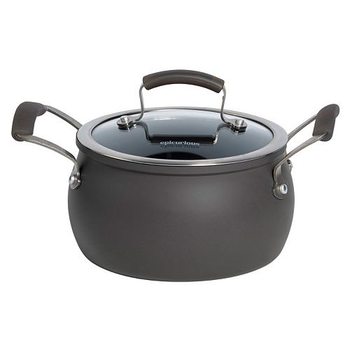Epicurious 3-qt. Hard-Anodized Nonstick Aluminum Soup Pot