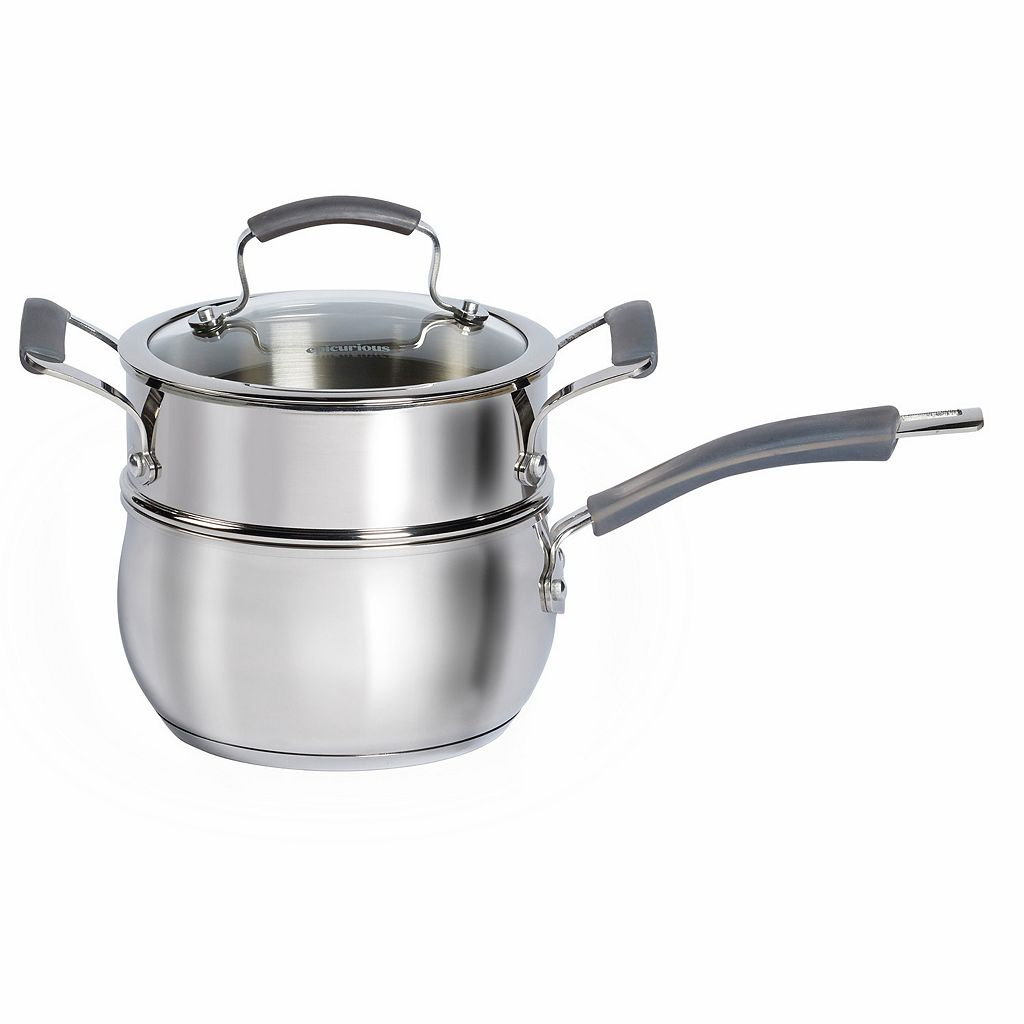Epicurious 2.5-qt. Stainless Steel Double Boiler
