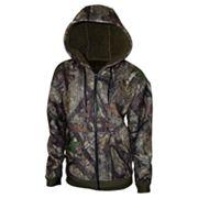 Men's True Timber High Pile Fleece Full-Zip Hoodie