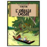 """Art.com """"Tintin L'Oreille Cassee"""" Framed Wall Art"""