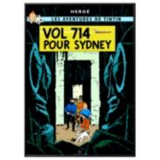 "Art.com ""Tintin Vol 714 Pour Sydney"" Framed Wall Art"