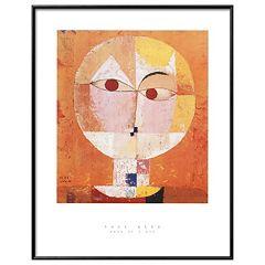 Art.com 'Head of Man' Going Senile Framed Wall Art