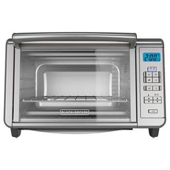 Black Amp Decker Dining In Digital Toaster Oven
