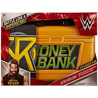 WWE King Of The Money In The Bank Seth Rollins Briefcase & Belt Prop Set