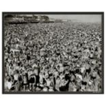 Art.com Coney Island 1945 Framed Wall Art