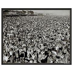 Art.com Coney Island 1945 Framed Wall Art