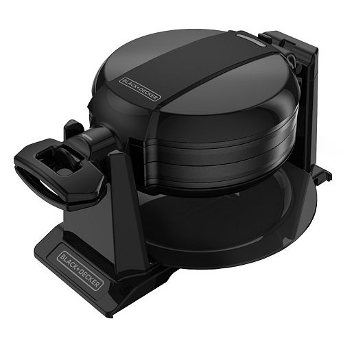 black and decker flip waffle maker instructions