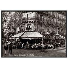 Art.com 'Saint-Germain des Pres Paris' Framed Wall Art