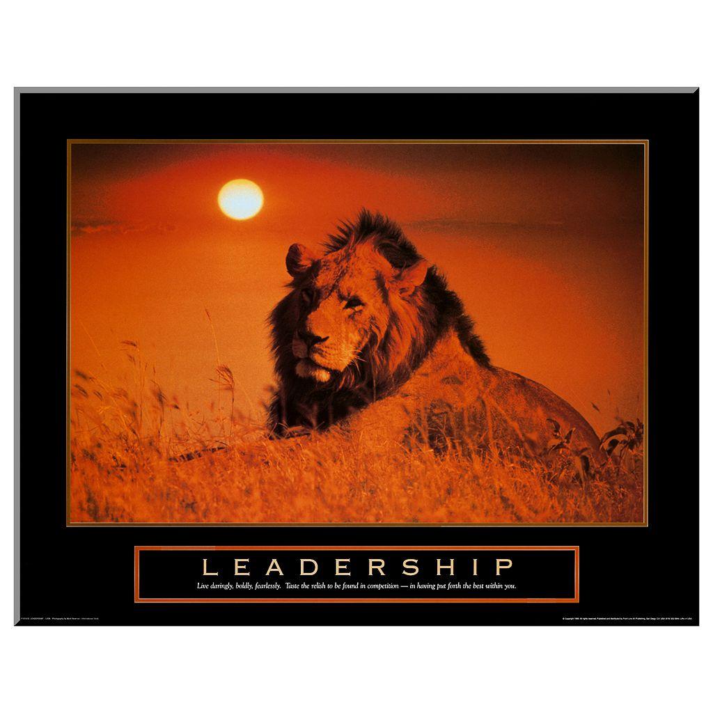 Art.com Leadership: Lion Wall Art