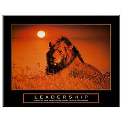 Art.com Leadership: Lion Wall Art