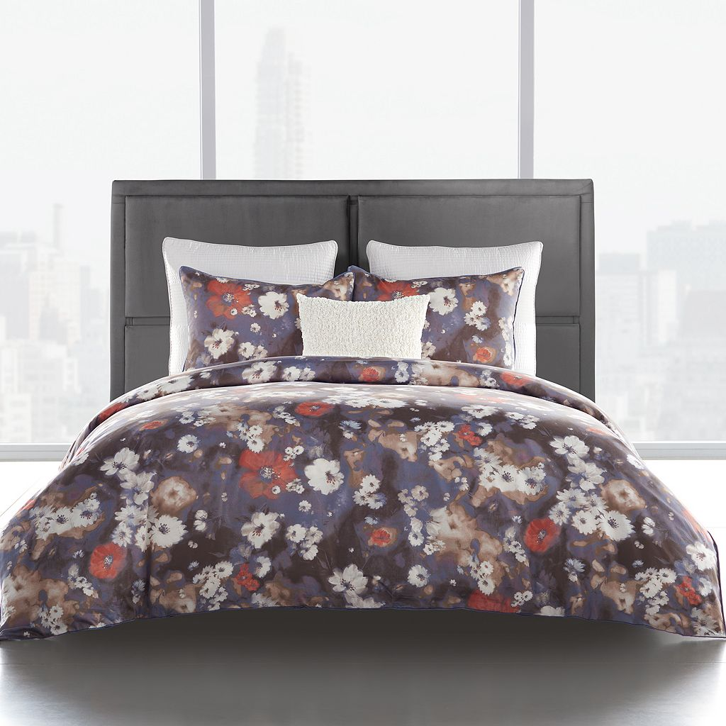 Simply Vera Vera Wang 300 Thread Count Falling Petals Duvet Set