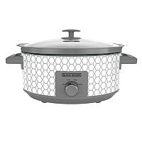 Black & Decker 7-qt. Geometric Slow Cooker
