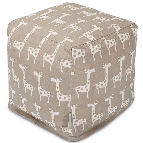 Majestic Home Goods Stretch Cube Pouf Ottoman