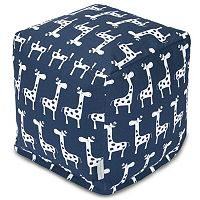 Majestic Home Goods Stretch Cube Pouf Ottoman