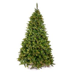 Vickerman 7.5-ft. Pre-Lit Pine Cashmere Artificial Christmas Tree