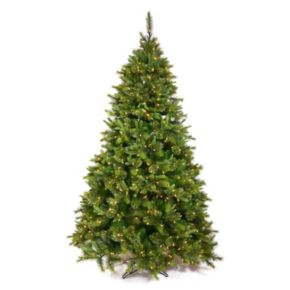 Vickerman 7.5-ft. Pre-Lit Pine Cashmere Artificial Christmas Tree